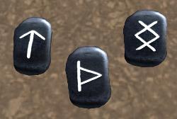 Gods Runes Tyr Thor Ing