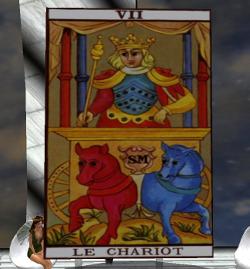 Tarot Chariot Major Arcana