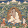 Bhutanese_painted_thanka_of_Milarepa_(1052-1135),_Late_19th-early_20th_Century,_Dhodeydrag_Gonpa,_Thimphu,_Bhutan